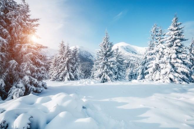 Največ snega je padlo v Italiji.