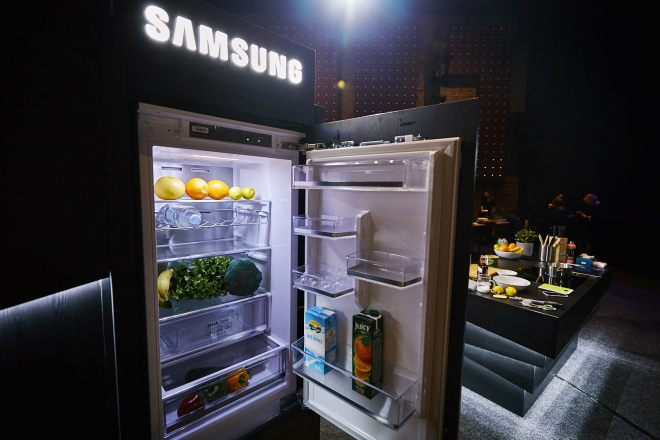 Predstavitev neverjetnih  gospodinjskih aparatov Samsung v zagrebškem gledališču Luda kuća