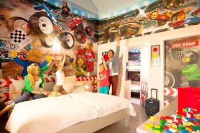 LEGOLAND® soba za dirkače.