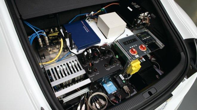 Možgani avtonomnega Audi TT