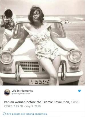 Iranka pred islamsko revolucijo, 1960.