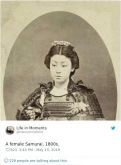 Samurajka v 19. stoletju
