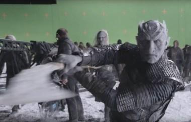 Scena iz Igre prestolov brez vizualnih efektov