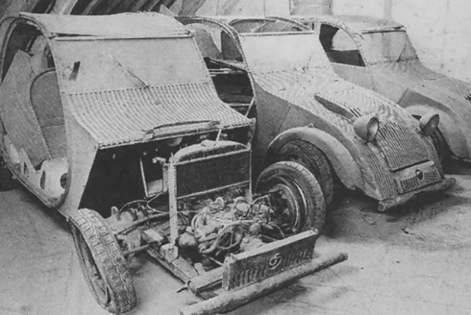 1939 Citroen 2CV Prototypes