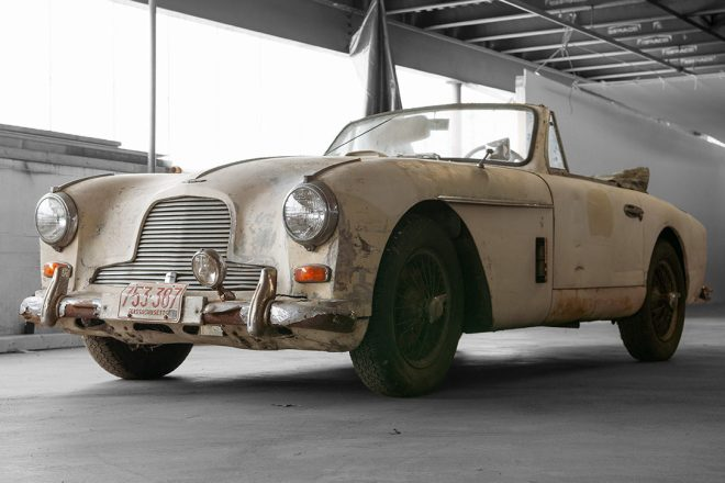 1954 Aston Martin DB2/4 MK II Coupe
