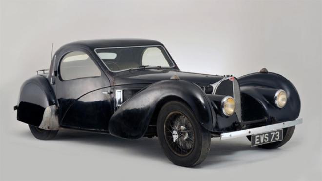 1937 Bugatti Type 57S Atlante Coupe