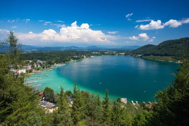 Klopinjsko jezero (Klopeiner See)
