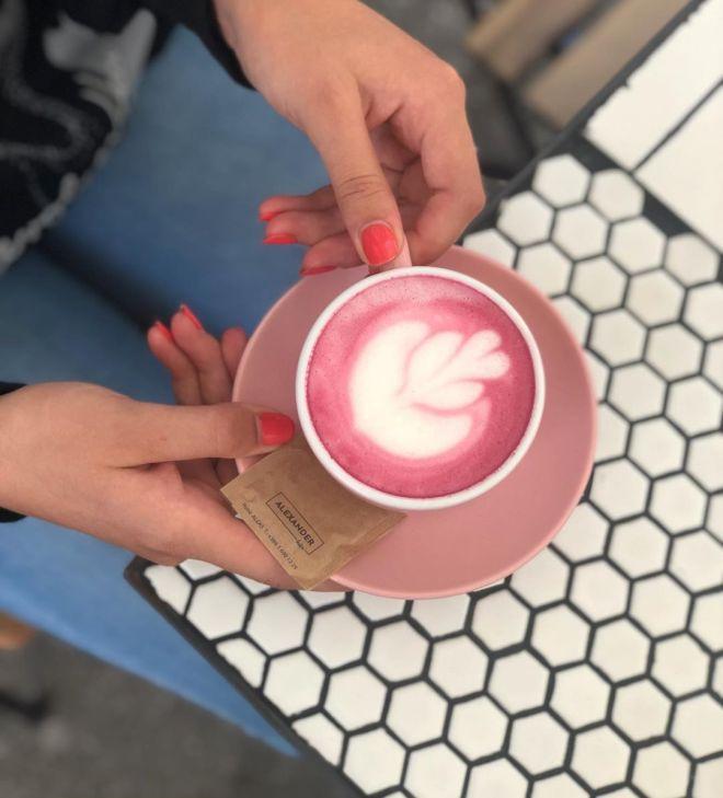 Pink latter