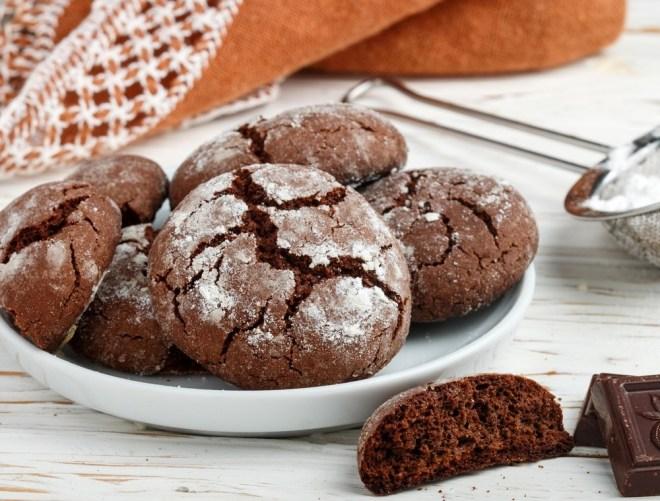 Čokoladno-ingverjevi razpokančki