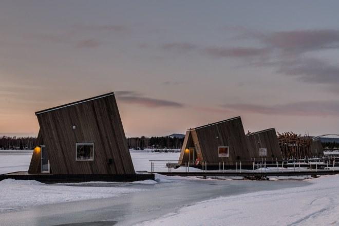 Kabine hotela Arctic Bath