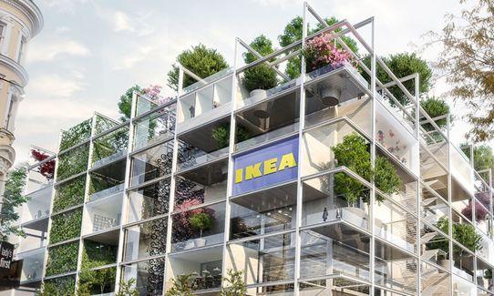 Nova IKEA na Dunaju
