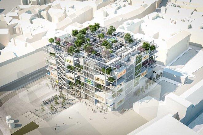 Nova IKEA na Dunaju se bo nahajala pri postaji Westbahnhof.