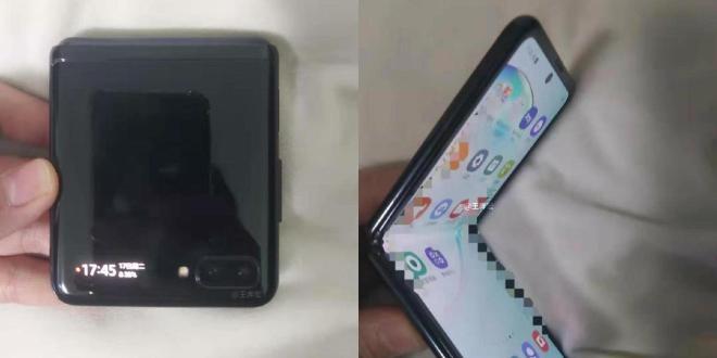 Fotografije potencialnega izgleda pametnega telefona Samsung Galaxy Z Flip