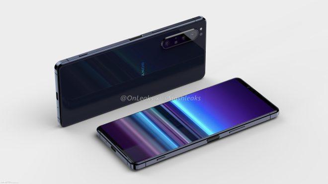 Potencialni izgled pametnega telefona Sony Xperia 5 Plus
