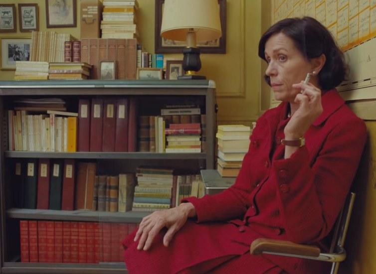Frances McDormand v filmu The French Dispatch (2020)