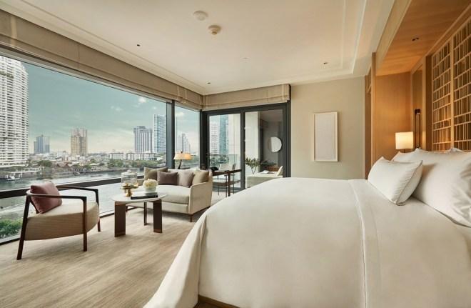 Bankok je divje in glasno mesto. V hotelu Capella pa je mir zagotovljen.