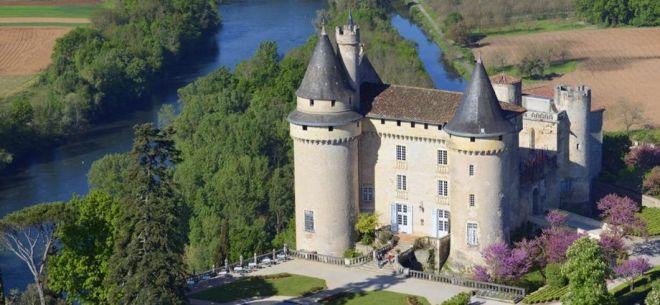 Chateau de Mercues je čaroben grad na jugu Francije.
