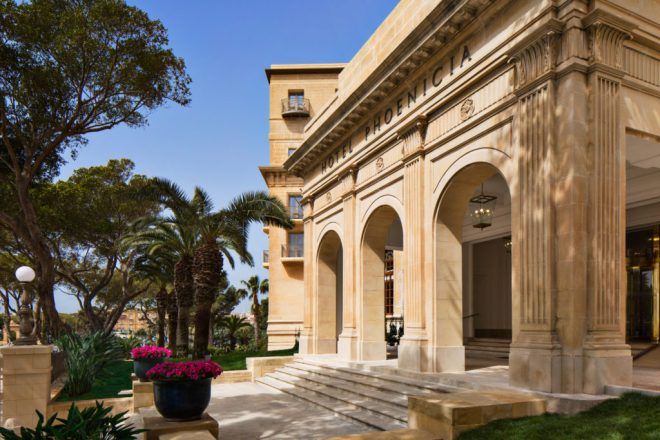 Hotel Phoenicia v Valletti na Malti je prvi luksuuzni hotel v mestu.