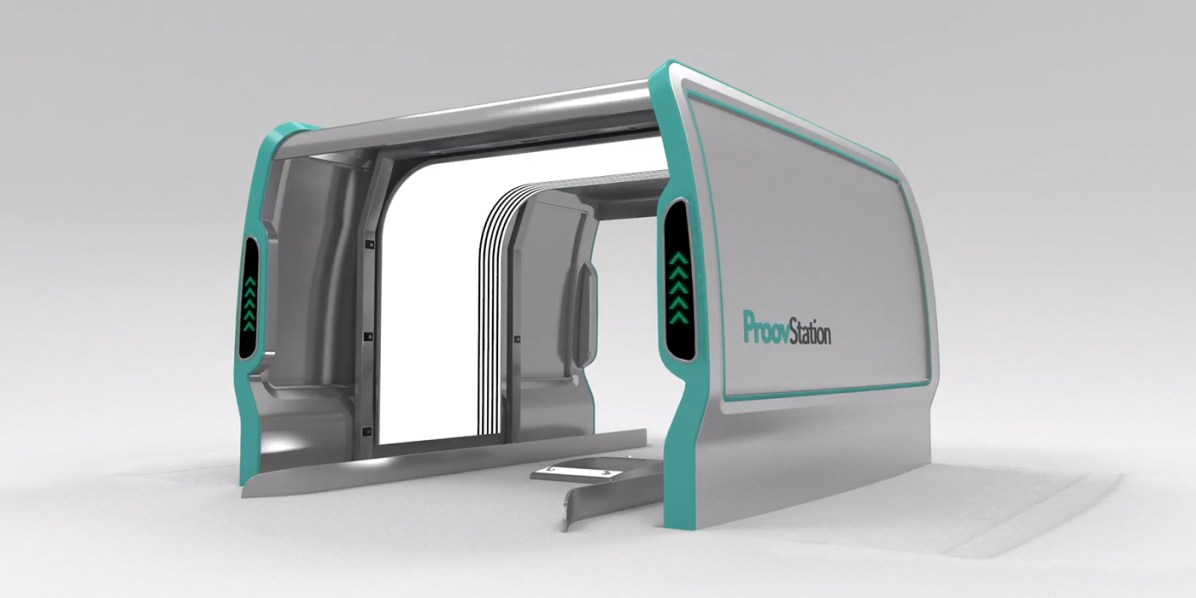 3D-skener avtomobilov ProovStation
