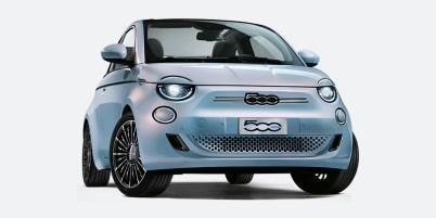"""Logotip """"Fiat"""" je zamenjala """"500-tka"""""""