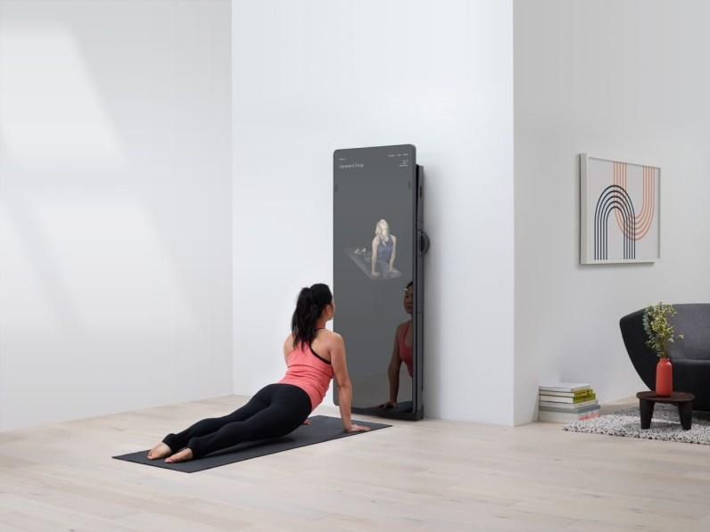 Pametno ogledalo za domači fitnes Forme