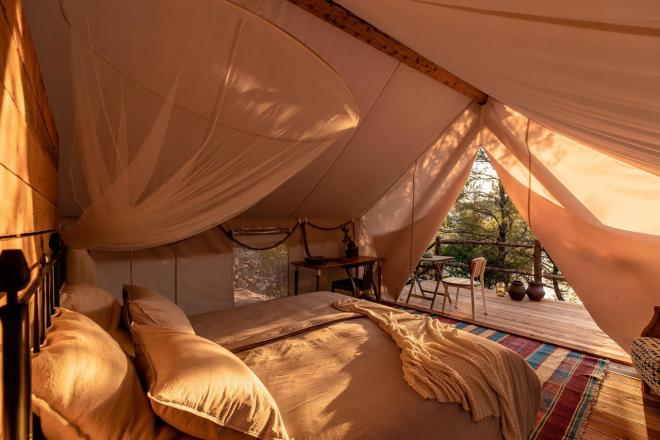 Plage Cachée - Glamping (Foto: Booking.com)