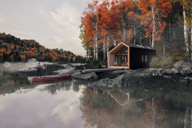 Black Country Hut Co., Great Lakes Cabin