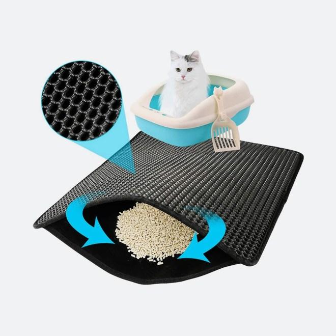 Podloga za pred mačje stranišče
