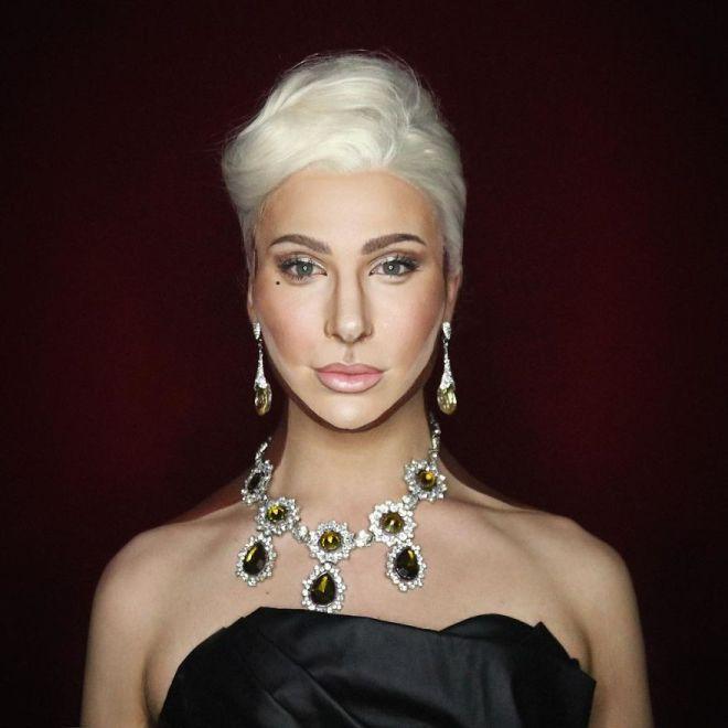 Alexis Stone kot Lady Gaga (Foto: IG @thealexisstone)