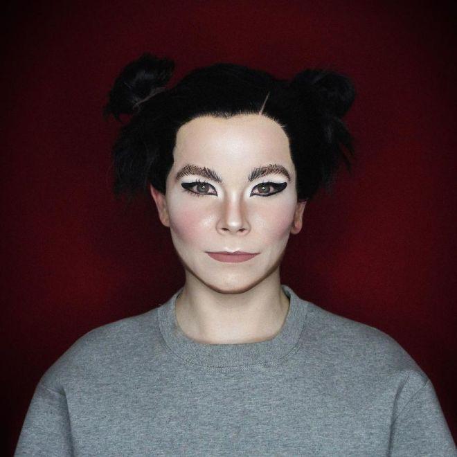 Alexis Stone kot Björk (Foto: IG @thealexisstone)