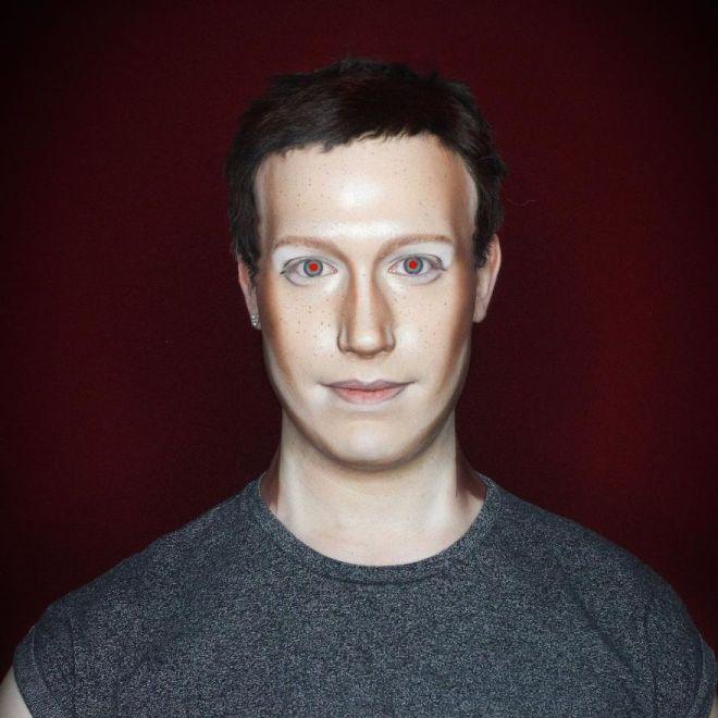 Alexis Stone kot Mark Zuckerberg (Foto: IG @thealexisstone)