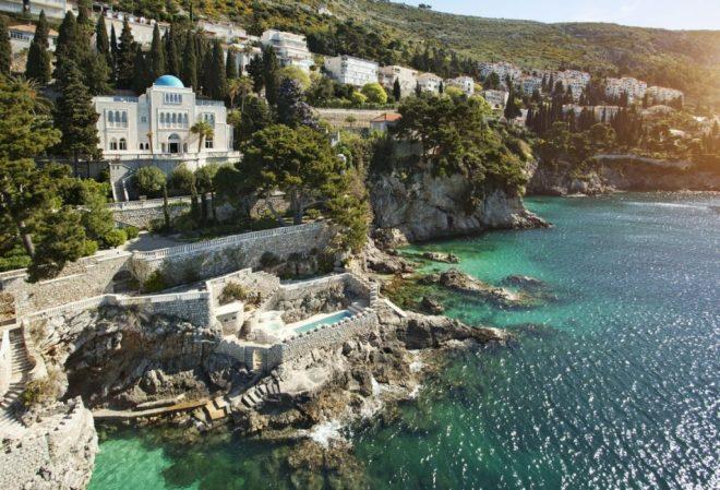 Bazen v vili Šeherezada v Dubrovniku (Foto: adriaticluxuryhotels.com)