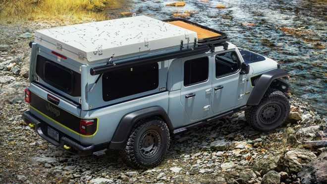 Koncept Jeep Gladiator Faraut