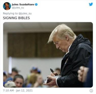 Podpisovanje Svetih pisem