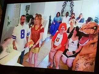 Las Vegas nudi resnično raznolike poroke in celo predvajanje v živo / Foto: Reddit