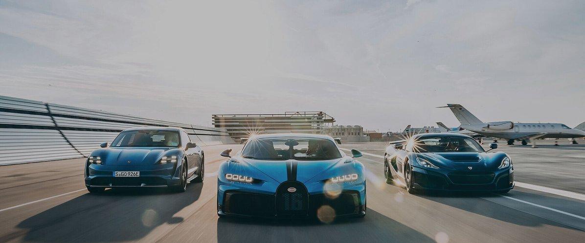 Bugatti Rimac, Foto: press.porsche.com