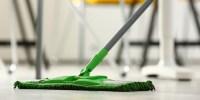 Grønn mopp