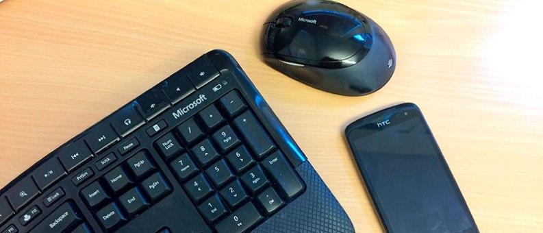 tastatur mobil og mus