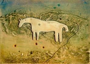 white horse plaster