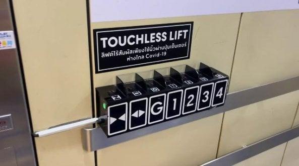 in-thailandia-l'ascensore-che-si-aziona-senza-toccare-i-pulsanti