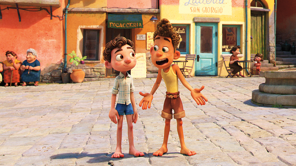 'luca'-review:-a-friendly-pixar-trifle-about-a-sea-monster-out-of-water