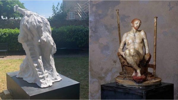 """la-""""deposizione""""-di-rosso-fiorentino-dopo-500-anni-ispira-nuove-opere-contemporanee:-a-volterra-mostra-di-riva-e-mutinelli"""