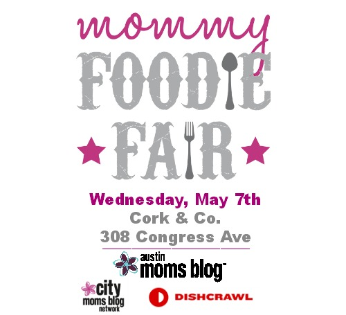 Mommy Foodie Fair, Moms Night Out, Cork & Co, Dishcrawl, City Moms Blog