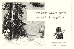 Ad from the 1932 Nursing Yearbook. Image courtesy of Royal Alexandra Hospital