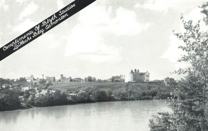 An Edmonton View. Image courtesy of Royal Alexandra Nursing Yearbook