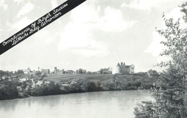 An Edmonton View. Image courtesy of Royal Alexandra Nursing Yearbook