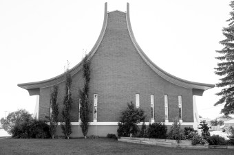 Trinity United Church. Photographed by Hilary McDonald. Do not Reproduce.