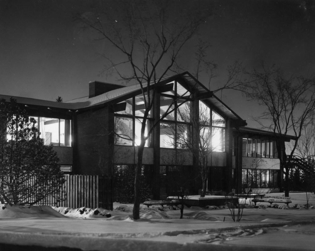 University of Alberta Faculty Club. Photo Courtesy of the University of Alberta Archives Accession #71-39-2