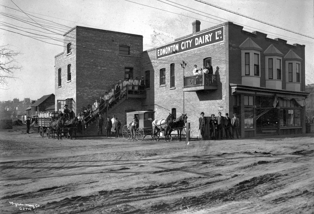 Edmonton City Dairy, A4993 - City of Edmonton Archives