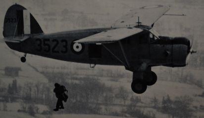 No. 2 Air Observer School para-rescue trainee jump.